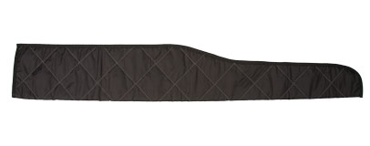 Protective sleeves in quilted black